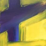 Anfang, 2013, Acryl auf Leinwand, 30x30 cm